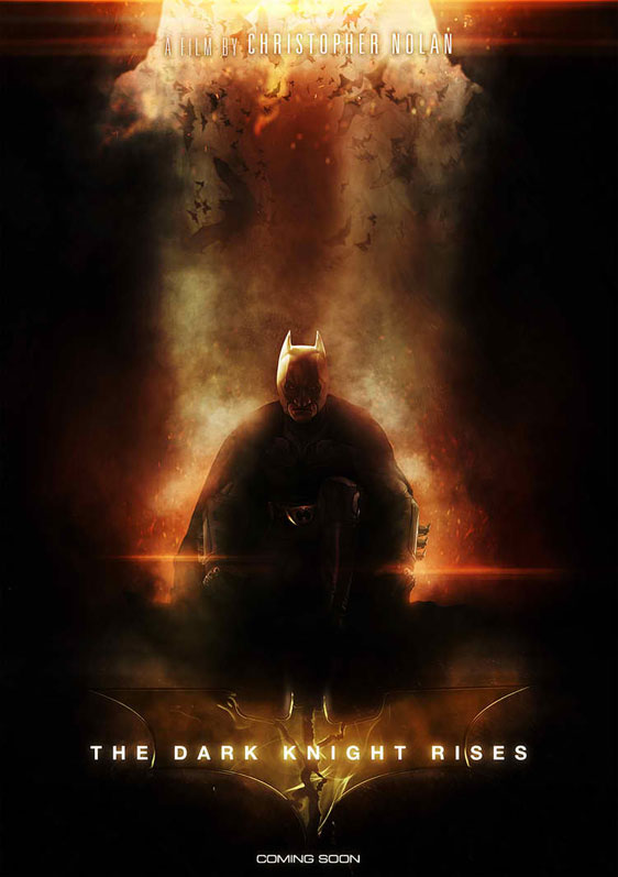'The Dark Knight Rises' Posters Updated