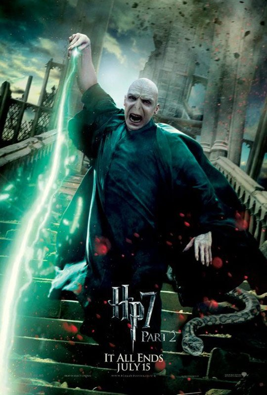 Harry Potter and the Deathly Hallows Part II Poster