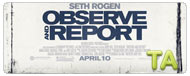 Observe and Report: On the Set
