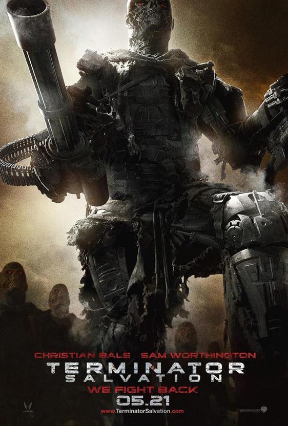 Terminator Salvation Poster - Trailer Addict