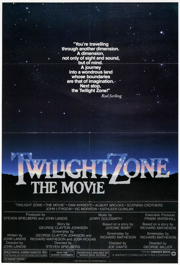 Twilight Zone: The Movie Poster