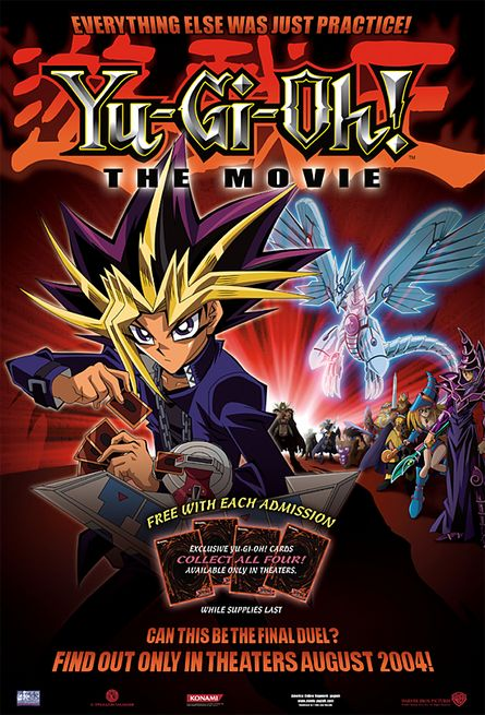 Yu-Gi-Oh! The Movie: Pyramid of Light Poster