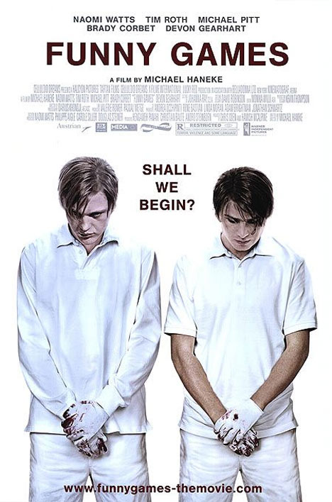 funny games. Funny Games Poster