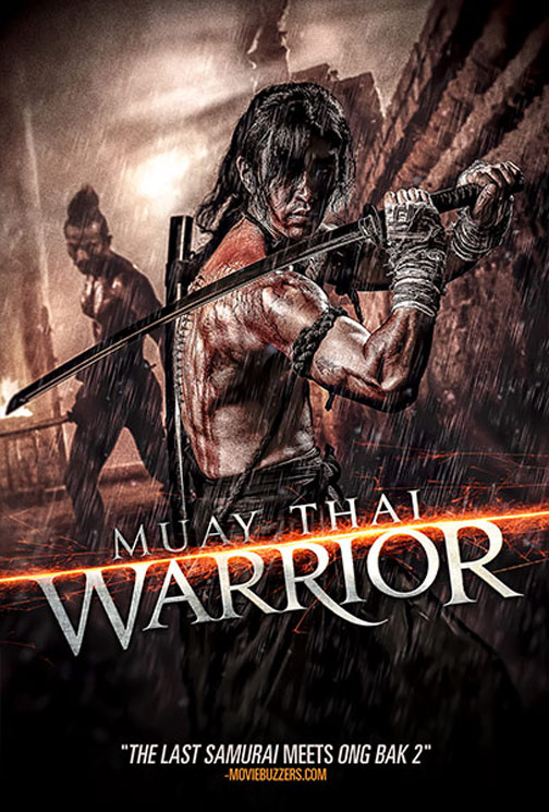 Muay Thai Warrior Poster